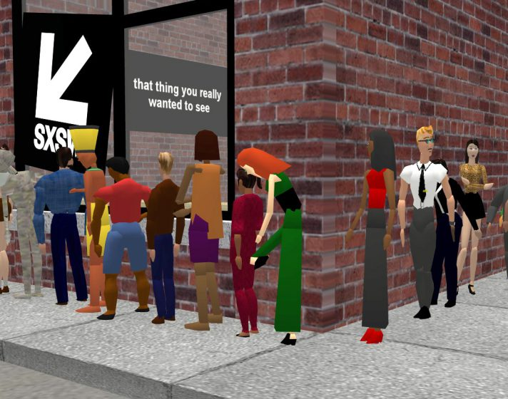 My new virtual reality SXSW Line Simulator lets you feel like you're actually standing outside of a SXSW panel you flew hundreds of miles to attend.